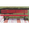 Thermoplastic Benches W/Custom Lettering