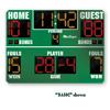 BSN SPORTS 8' x 5' Basketball Scoreboard w/ Timeouts Left