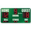 8' X 4' Baseball Scoreboard