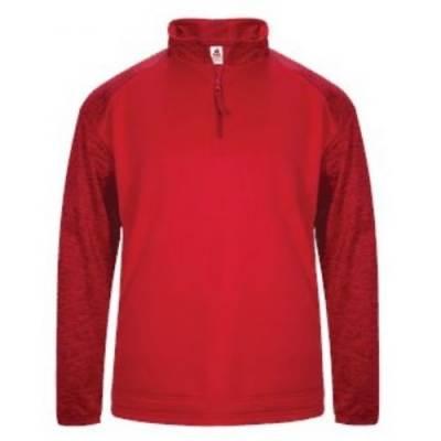 Badger Sport Tonal Blend Fleece 1/4 Zip Main Image