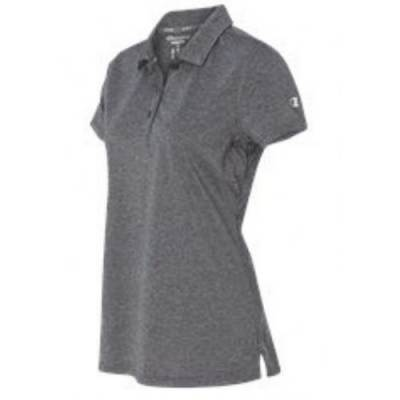 Champion Vapor Heathered Women's Short Sleeve Polo Main Image