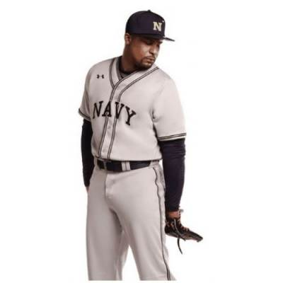 Under Armour® Youth Stock Rundown Baseball Jersey Main Image