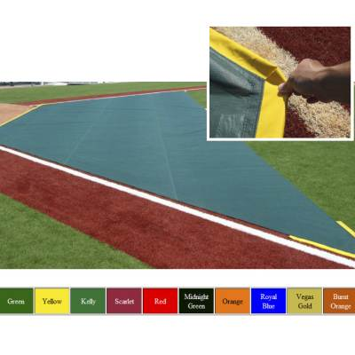Wind Weighted Infield Protector 20'W x 15'D x 50'L Main Image