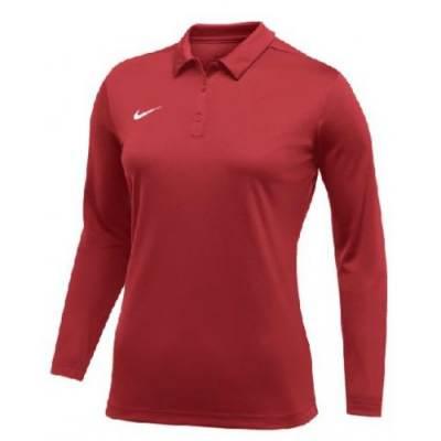 Nike Women's Dry Longsleeve Polo Main Image