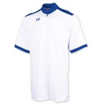 UA 1/4 Zip Short Sleeve Shooter Shirt Main Image