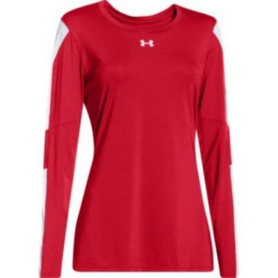 Under Armour® Block Party Women's Long-Sleeve Crew Neck Volleyball Jersey Main Image