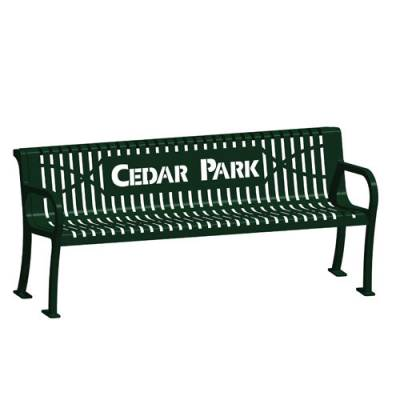 Lexington Wave Bench Main Image