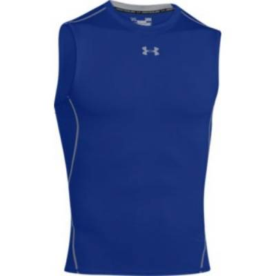 Under Armour® HeatGear® Armour Men's Sleeveless Compression Crew Neck Tank Top Main Image