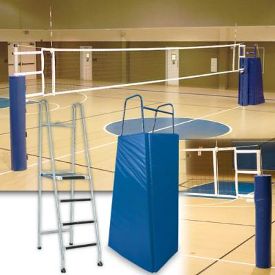 Telescopic Aluminum Volleyball System Main Image