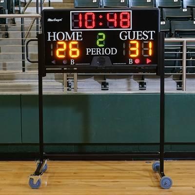 4' x 2' Multisport Indoor Scoreboard Main Image
