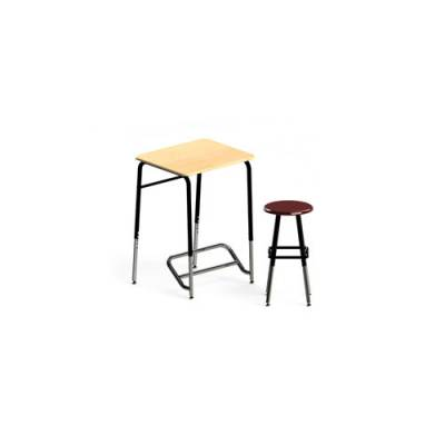 Stand2Learn™ Desk   Stool Main Image