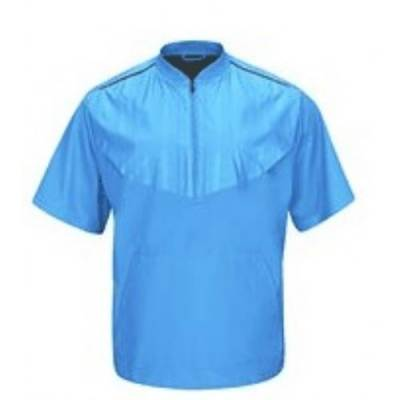 Majestic® Authentic Collection Short-Sleeve 1/2-Zip Pullover Baseball Training Jacket Main Image