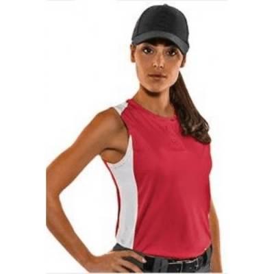 CHAMPRO Sports® Diamond Active Women's Sleeveless Softball Jersey Main Image