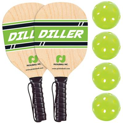 Diller Paddle & Ball Pack Main Image