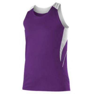 Alleson Women's Loose Fit Track Tank Main Image