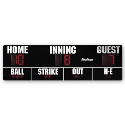 16' X 5' Baseball Scoreboard Main Image