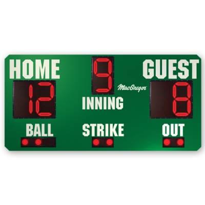 8' X 4' Baseball Scoreboard Main Image