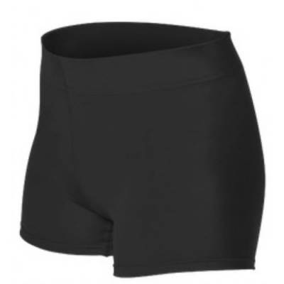 Alleson Girl's Volleyball Shorts Main Image