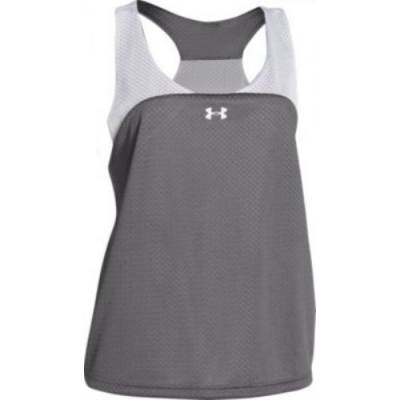 Under Armour® Ripshot Striped Women's Sleeveless Scoop Neck Racerback Lacrosse Pinnie Main Image
