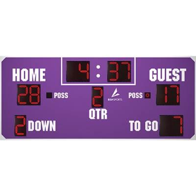 14' x 6' Football Scoreboard Main Image