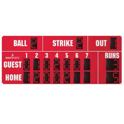 "15' X 6'6"" Baseball Scoreboard Main Image"