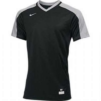 Nike Vapor Dri-FIT Stock Boys' Short-Sleeve V-Neck Baseball Game Jersey Main Image