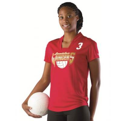 Alleson Girl's Microfiber Volleyball Jersey Main Image
