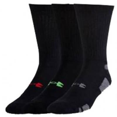 Under Armour® HeatGear® Men's Crew Socks (3-Pack) Main Image