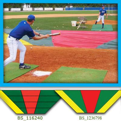 Bunt Zone® Infield Protector/Trainer Main Image