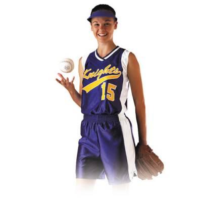 Dazzle Softball Short Main Image