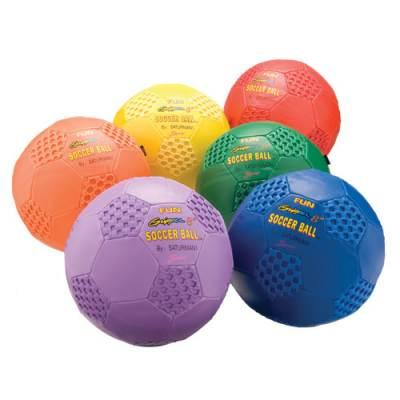 Color My Class® Fun Gripper Soccer Balls Main Image