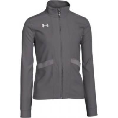 UA Girl's Pregame Woven Full-Zip Jacket Main Image