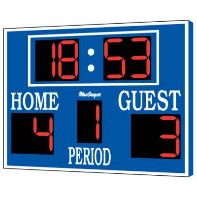 8' x 5' Lacrosse & Soccer Scoreboard Main Image