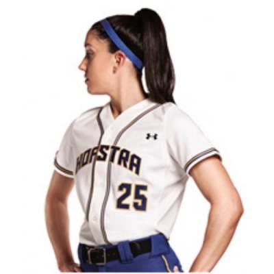 Under Armour® One-Hop Women's Short-Sleeve Softball Jersey Main Image