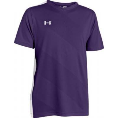 Under Armour® Fixture Youth Short-Sleeve Soccer Jersey Main Image