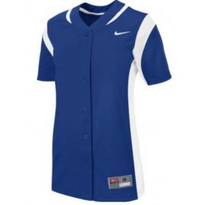 Nike Vapor Women's Short-Sleeve Full-Button Fast-Pitch Softball Jersey Main Image