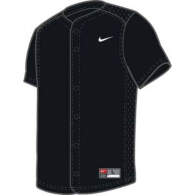 Nike Youth Full-Button Vapor Jersey Main Image