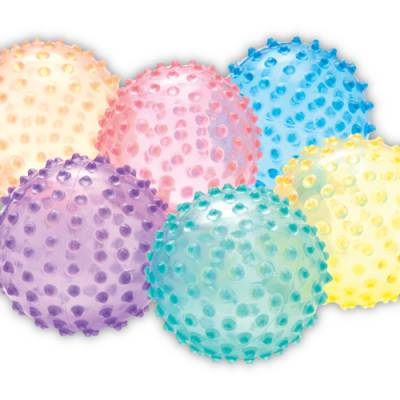 Color My Class® See Thru Knobby Balls Main Image