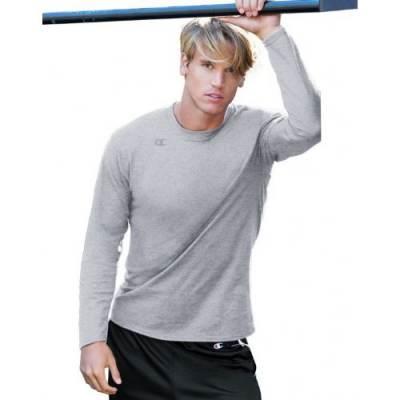Champion® Vapor® Men's Long-Sleeve T-Shirt Main Image