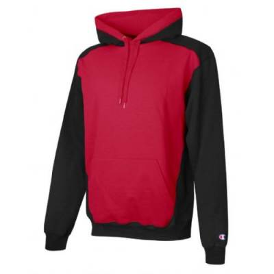 Champion® Double Dry Eco Color-Blocked Fleece Hoodie Main Image