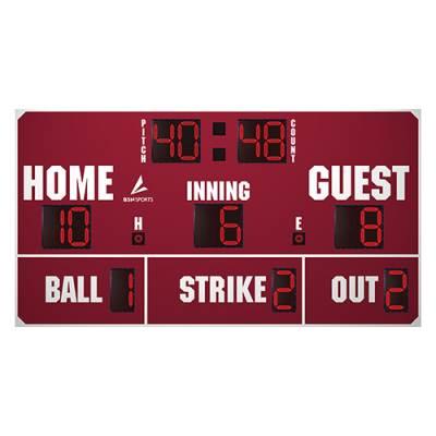 "14' X 7'6"" Baseball Scoreboard Main Image"