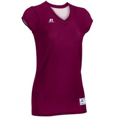 Russell Athletic Women's Cap Sleeve V-Neck Tee Main Image
