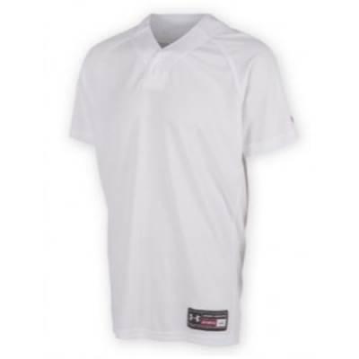 Under Armour® Backstop Stock Men's Henley Baseball Jersey Main Image