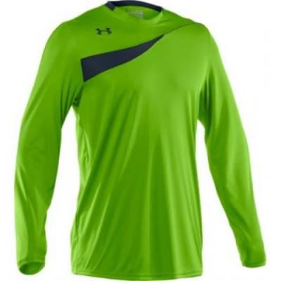 Under Armour® Horizontal Men's Long-Sleeve Goalkeeper Jersey Main Image