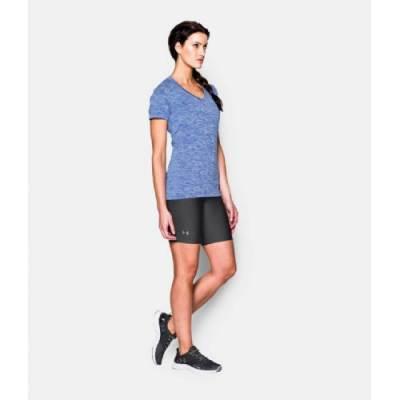 "Under Armour® Women's HeatGear® 7"" Compression Shorts Main Image"