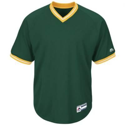 Majestic® Cool Base® Men's Short-Sleeve V-Neck Baseball Jersey Main Image