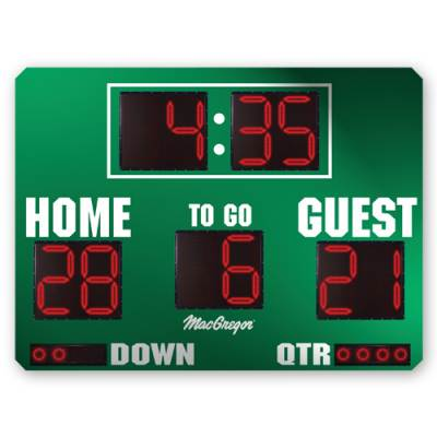 8' X 5' Football Scoreboard Main Image