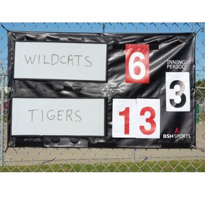 Portable Fence Mounted Scoreboard Main Image
