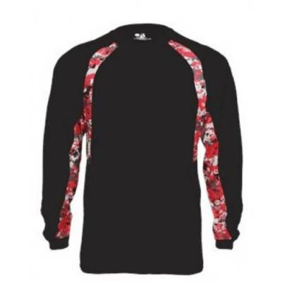 Badger Digital Hook Long-Sleeve T-Shirt Main Image