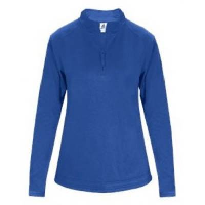 Badger Ladies Poly Fleece 1/4 Zip Main Image